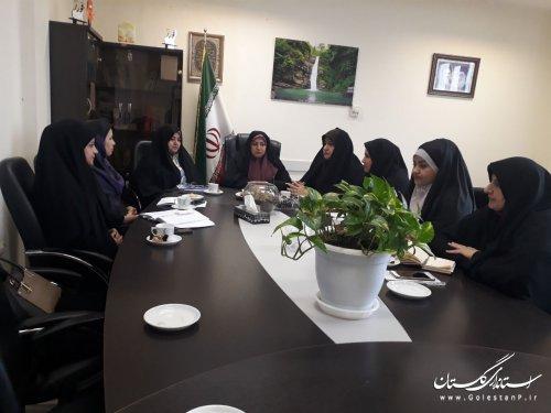 نشست مدیر کل دفتر امور شهری و شوراها با بانوان عضو شوراهای اسلامی شهرهای استان