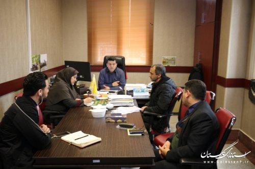 تشکیل جلسه کمیته نظارت و تنظیم بازار ستاد خدمات سفر در استاندارد گلستان