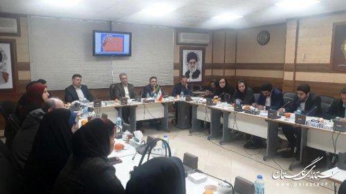 جلسه با سرپرستان نشریات سراسری در استان گلستان برگزار شد
