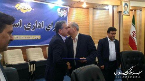 عبدالرضا چراغعلی معاون سیاسی، امنیتی و اجتماعی استاندار گلستان شد