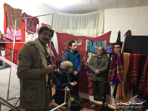 تحقیقات میدانی تیم کارشناسان ستاد مرکزی از ظرفیت های صنایع دستی و بوم گردی روستای سیاه رودبار