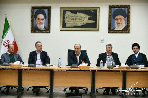 استاندار گلستان در شورای حفاظت از منابع آب استان: ایجاد سامانه های استحصال از آب باران برای مقابله با بحران کم آبی موثر است