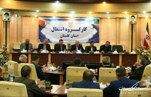 استاندار گلستان در کارگروه اشتغال استان؛ تاکنون ایجاد 27 هزار و 500 شغل در سال 97 ثبت شده است