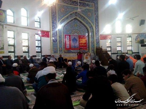 کسب عنوان برتر کانون فرهنگی هنری ((آل طه)) زندان گنبد در بین 720 کانون استان
