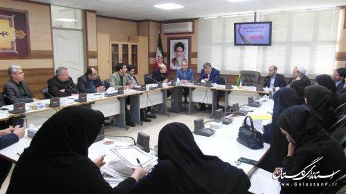 جلسه کمیته برنامه ریزی فرهنگ و ارشاد اسلامی گلستان تشکیل شد