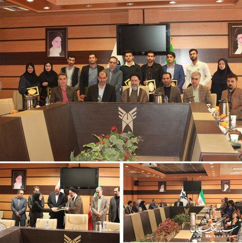 مهارت آموختگان برتر مرکز ارتقاء شایستگی های حرفه ای دانشجویان دانشگاه آزاد گرگان تقدیر شدند