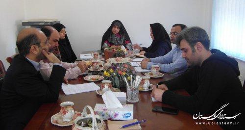 شورای سیاستگذاری جشنواره تئاتر استان گلستان تشکیل جلسه داد