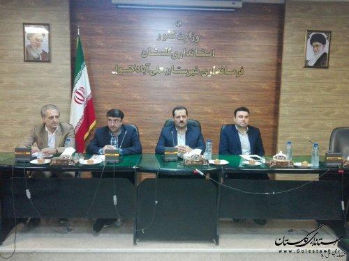 دستگاه های اجرایی گلستان با تعامل و هم افزایی نوروز خوبی برای مسافران و گردشگران استان رقم بزنند