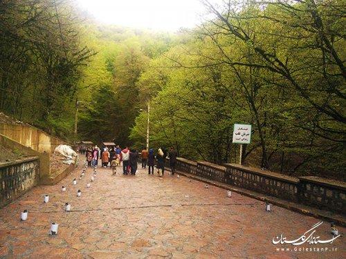 بیش از 123 هزار بازدید از جاذبه های استان گلستان در روزهای پایانی سال 97
