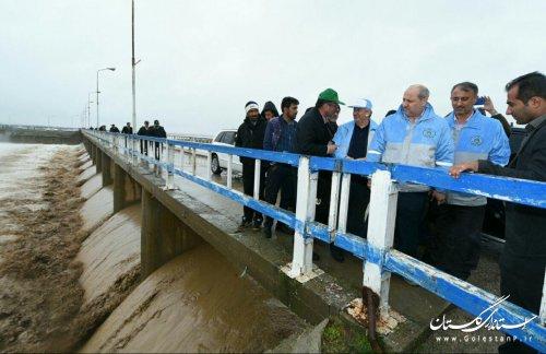 برآورد خسارات ناشی از سیلاب به گلستان بین 100 تا 150 میلیارد تومان است