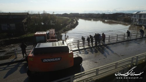 50 درصد بارش سالیانه استان طی 24 ساعت، موجب طغیان رودخانه های استان شد