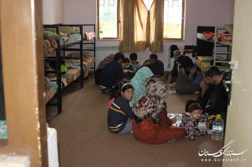 اسکان70 نفر از سیل زدگان در مرکزآموزش فنی وحرفه ای برادران گرگان