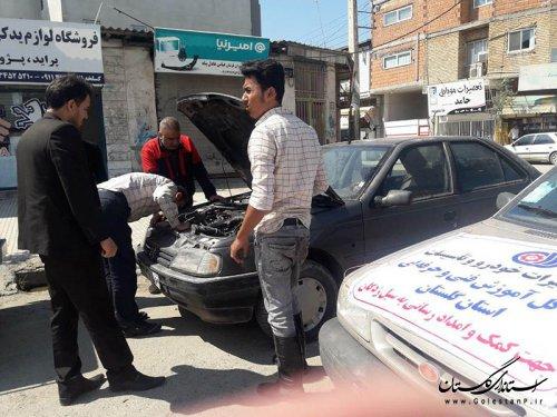 اعزام اکیپ های امدادی اداره کل آموزش فنی وحرفه ای استان به مناطق سیل زده گلستان