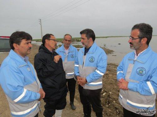 تشکیل کمیته بررسی استحکام بنا در در مناطق سیلزده گلستان
