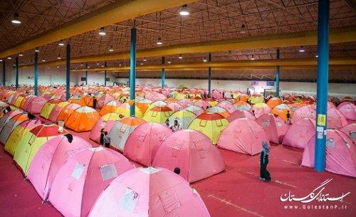 بیش از ۱۵ هزار نفر از مردم سیلزده استان گلستان اسکان داده شدند
