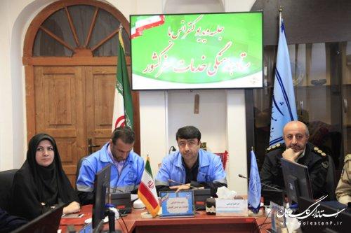 جلسه دبیرخانه ستاد خدمات سفر استان گلستان برگزار شد