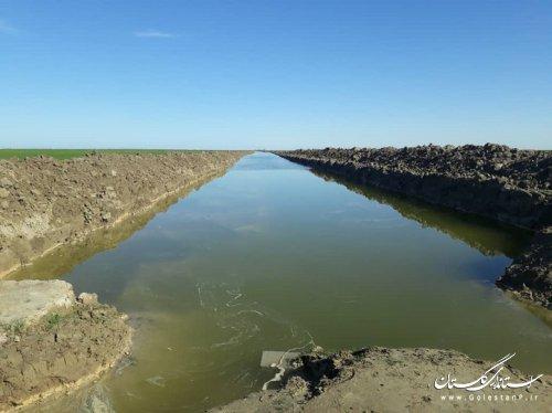 با اتصال زهکشهای شمال شهر گمیشان، ظرفیت تخلیه آب شهر گمیشان افزایش یافت