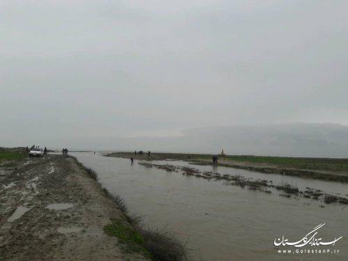 برداشت آب توسط موتور پمپ از رودخانه های گرگانرود و قره سو برای کشاورزان و بهره برداران بلامانع است