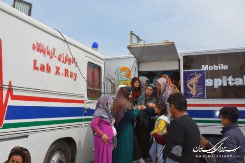 ویزیت 10 هزار سیل زده گلستانی توسط مدیریت درمان تامین اجتماعی استان