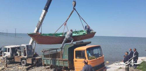 اعزام پرسنل و تجهیزات یگان حفاظت شیلات به مناطق سیلزده