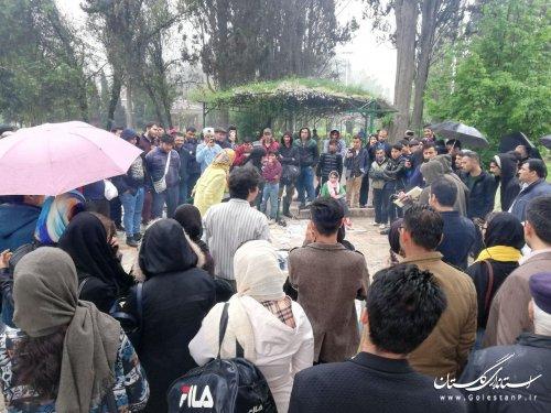 اجرای 7 نمایش خیابانی با محوریت آسیب های اجتماعی در استان گلستان