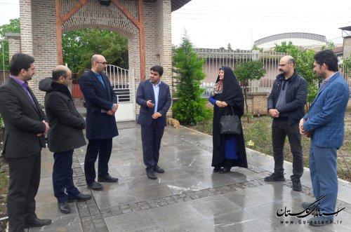 سفر یکروزه مدیرعامل انجمن موسیقی ایران به استان گلستان