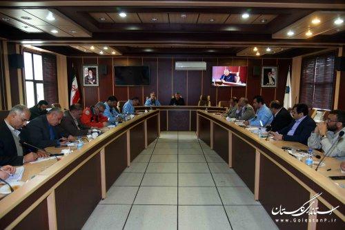 اولین جلسه کارگروه بازسازی و نوسازی مناطق سیل زده گلستان برگزار شد