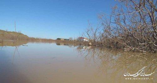 خسارت حدود 700 میلیارد ریالی سیلاب فروردین ماه 98 به رودخانه ها و مجاری آبی شهرستان گرگان