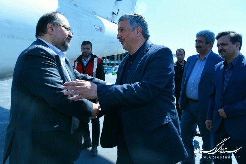 سفر وزیر تعاون، کار و رفاه اجتماعی به استان گلستان