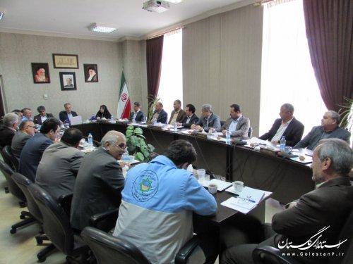 نشست معاون سیاسی، امنیتی استانداری با فرمانداران و مدیران کل حوزه معاونت