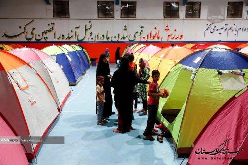 ورود سیلاب به برخی مناطق آققلا/ اسکان اضطراری ۱۲۵۰ نفر از سیل زدگان