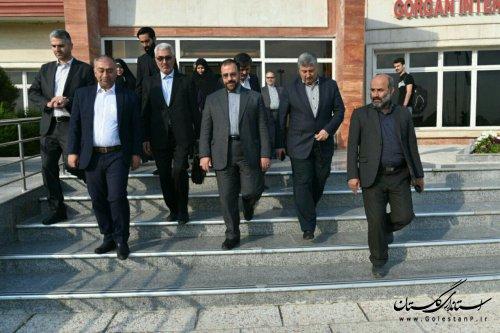 حضور یکروزه معاون پارلمانی رییس جمهوری در استان گلستان