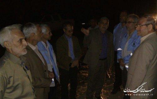 وقوع رانش در جاده توسکاچال به دوزین خسارت جانی نداشت/ برق دوزین و روستاهای اطراف وصل شد