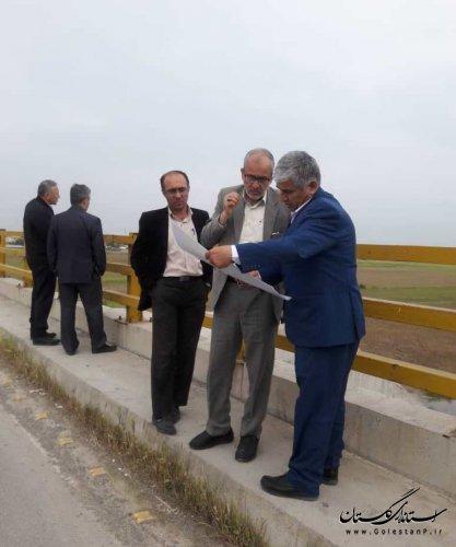 بازدید اعضای کمیسون عمران مجلس و مدیر عامل شرکت مدیریت منابع آب ایران از سد بوستان