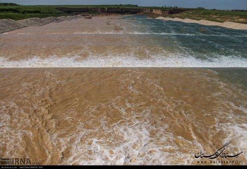 تداوم آبدهی رودخانه های گرگانرود و قره سو