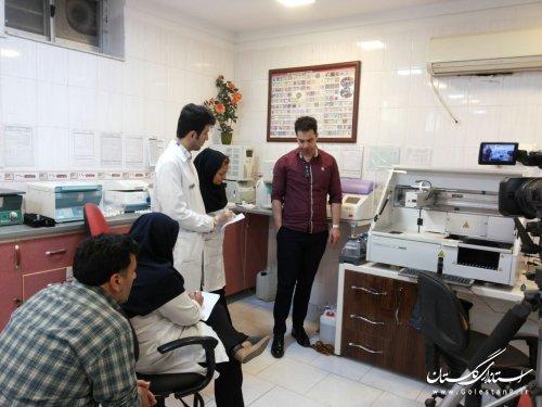 توسعه تجهیزات پلی کلینیک امام خمینی (ره) گرگان