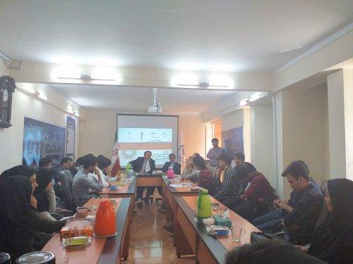 """کرسی دانشجویی """"توسعه فرهنگ کسب و کار تعاونی""""  برگزار شد"""