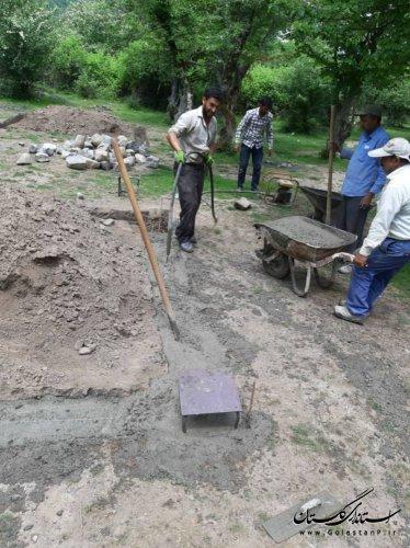 آغاز عملیات اجرایی ساماندهی زیر ساخت های گردشگری دهنه محمد آباد علی آباد کتول با اعتبار یک میلیارد ریال