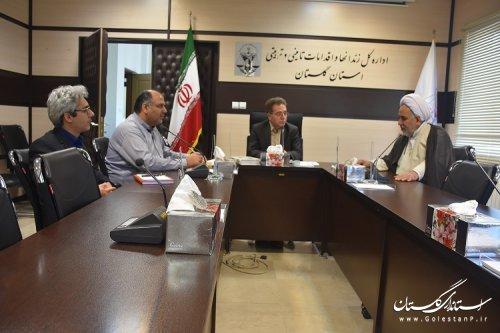 اولین نشست شورای زکات اداره کل زندانهای استان گلستان برگزارشد