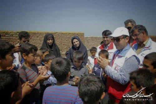 بهره مندی بیش از 8 هزار سیل زده از خدمات تیم های سحر جمعیت هلال احمر در گلستان