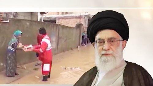 قدردانی روحانیون و مدیران حوزه های علمیه اهل سنت مناطق سیل زده استان گلستان از مقام معظم رهبری