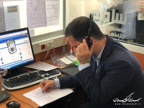 مدیران ICT استان در مرکز سامد پاسخگوی مشکلات مردم بودند