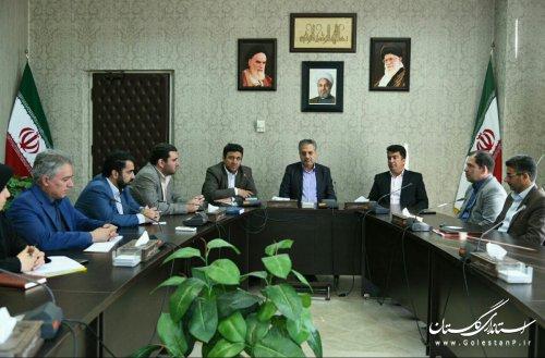 دیدار اعضای شورای هماهنگی روابط عمومی استان با معاون سیاسی استاندار گلستان
