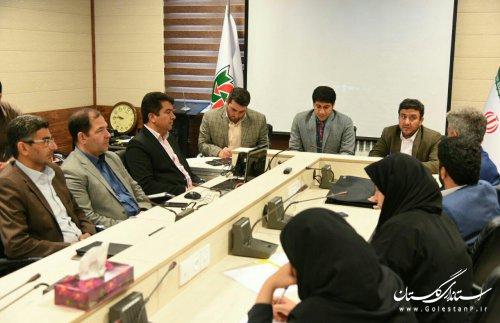 دیدار شورای هماهنگی روابط عمومی های گلستان با مدیرکل راهداری و حمل و نقل جاده ای
