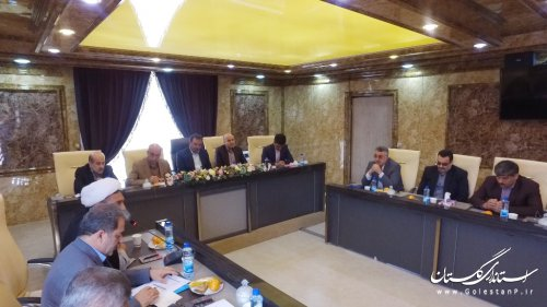 ارائه گزارش خسارات سیل گلستان در گردهمایی مدیران کل شیلات استانهای ساحلی و غیر ساحلی کشور