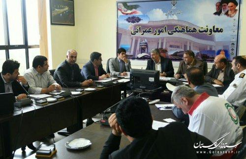 اولین جلسه کمیسیون ایمنی راهها و حمل و نقل گلستان در سال 98 برگزار شد