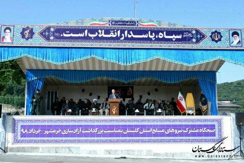 اقتدار نظامی ایران اسلامی با حماسه آزادسازی خرمشهر درمنطقه اثبات شد