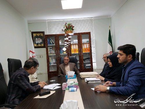 دیدار هیات مدیر کانون انجمن صنفی پیمانکاران  گاز با مدیر کل راه و شهرسازی استان گلستان