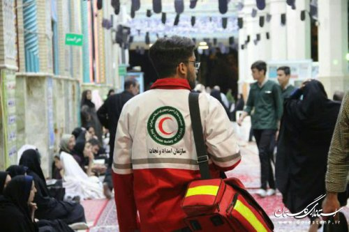 فعالیت ۶۴ تیم امدادی گلستان در شب های قدر/ خدمات دهی به ۳۲۳ نفر