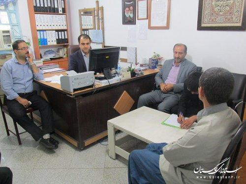 بازدید دادستان شهرستان کردکوی از زندان مرکزی گرگان